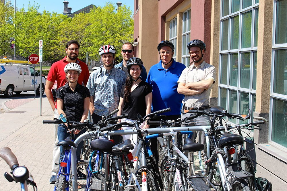 University of Ottawa unifies for Bike to Work